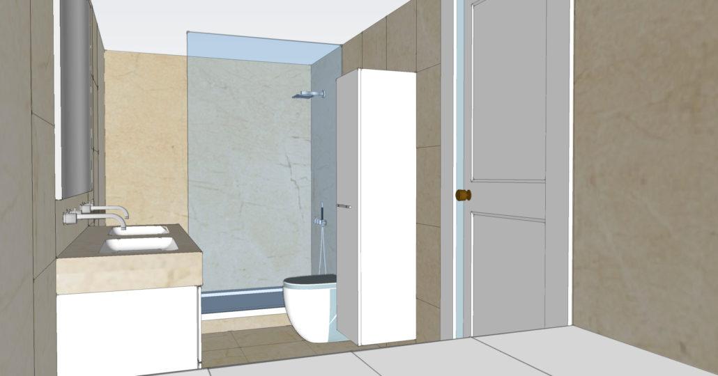 Renovatie Badkamer Fotos : Renovatie badkamer in crema marfil david fernandez